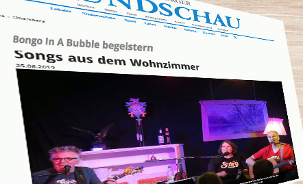 Bongo in a bubble - live im Meisenfrei 2018
